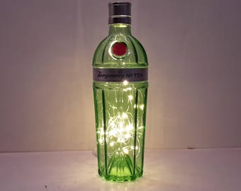 Tanqueray 10 lighted bottle