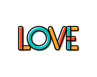 LOVE Digital Download