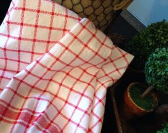 Red Tea Towel
