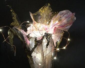 Handmade Flower Lamp