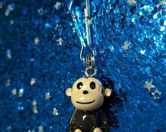 Clip Charms - Monkey - With Cupcake Giftbox