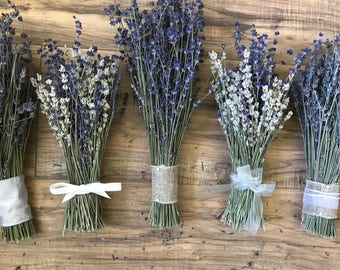Beautiful & Fragrant - Lavender Bridesmaids Bouquets