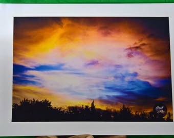 """A4 Photograph - by @rtoffelix - """"Yesterday's Muse"""" (Nature, Sky, Sunsets)"""