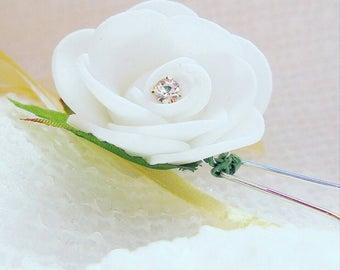 Wedding hair pins, flower hair pins, wedding hair accessories, bridal hair grips, bridal hair pins, flower hair pins,  hair pins, hair grips