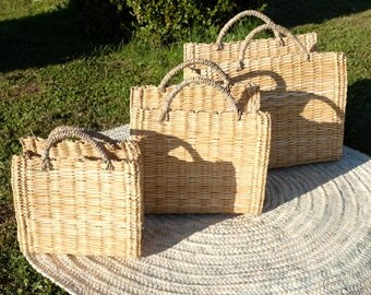 Rectangular Wicker baskets