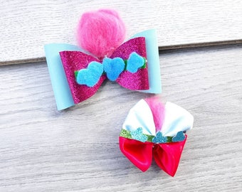 poppy girls costume, trolls birthday, poppy costume, poppy girls party, trolls party, poppy girls birthday, trolls hair accessories