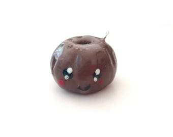 Deliciously Cute Chocolate Glazed Bundt Cake Charm!