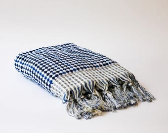 Free Shipping ORB Turkish Towel Set of 2 - Blue