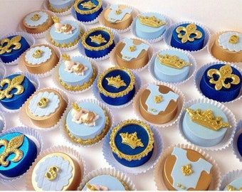Royal Baby Shower Chocolate Oreos