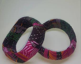 African Print Bangles