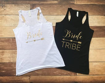 Bachelorette Party Tank Top, Bachelorette Party Shirts Beach, Bachelorette Tank Top, Bridesmaid Tank Top, Bride Tribe Tank Top