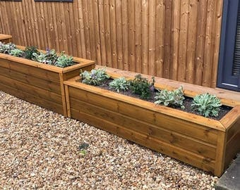 Luxury Planters (Various Sizes Built to Order)
