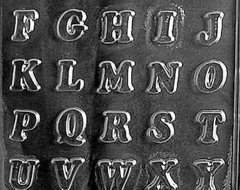Small Letters Alphabet (A-Z) Chocolate Mold