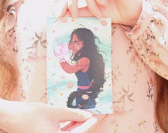Steven Universe Art Prints - Amethyst & Connie