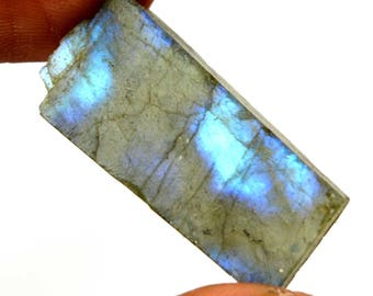 45.65 Ct. Natural Untreated Rainbow Shinny Labradorite Gemstone Rough-Christmas Gift