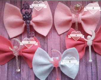 """Hair Bow """"Sailor Moon"""""""