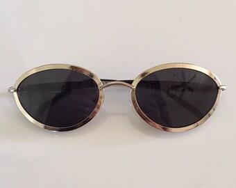 90's Silver Oval Sunglasses