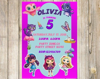 Little Charmers Birthday Invitation-YOU PRINT