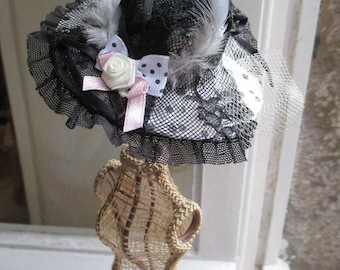 "Brooch fashion ""Collection Shabby C n 6"""