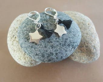 earring stud earring with stars