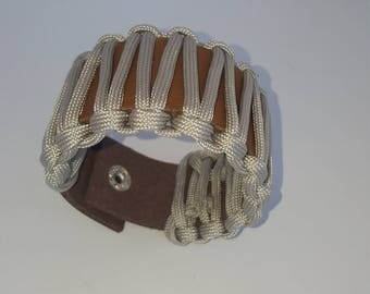 Genuine cow leather bracelet