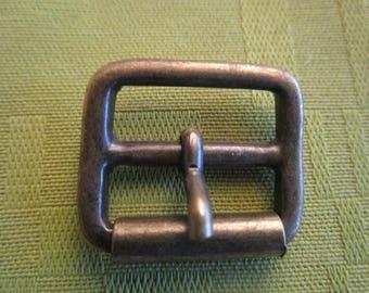 solid bronze a roller buckle