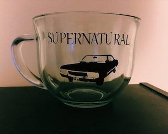 Supernatural Clear Mug