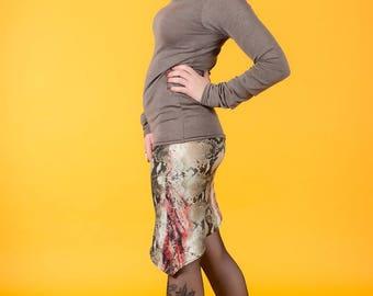 original asymmetrical cut skirt