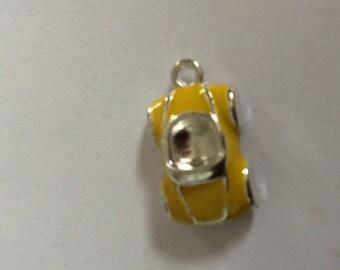car: yellow enamel