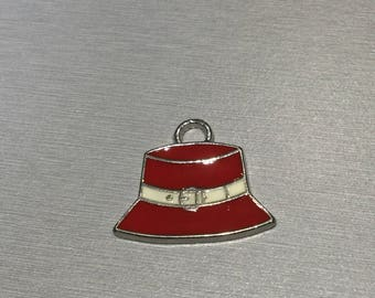 Enamel Red Hat