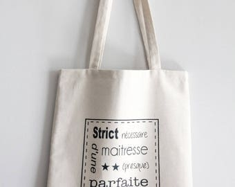 FULLY LINED BAG TOTE BAG