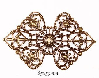 bow tie filigree bronze 85x53mm 6 prints
