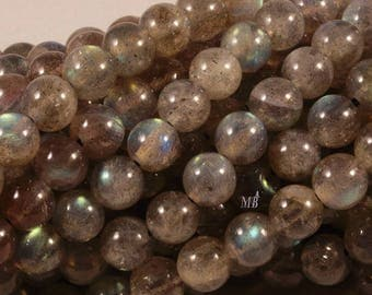 semi precious stones of labradorite 6mm 10 beads