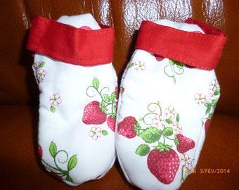 Slippers strawberries and cherries for little girl ref: 7250889