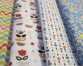 Set of 4 cut of fabric 50 cm * 50 cm