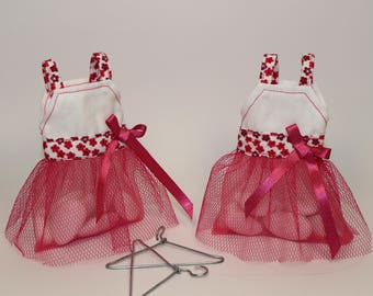Dress worn sweets fuchsia tulle