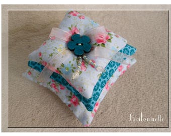 Pillows scents liberty shabby blue