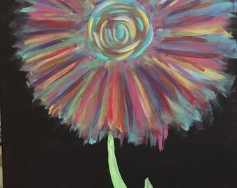 Soft Flower Puff