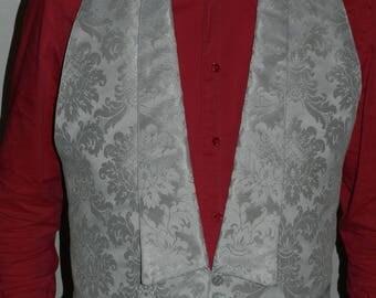Man bib baroque Tuxedo vest
