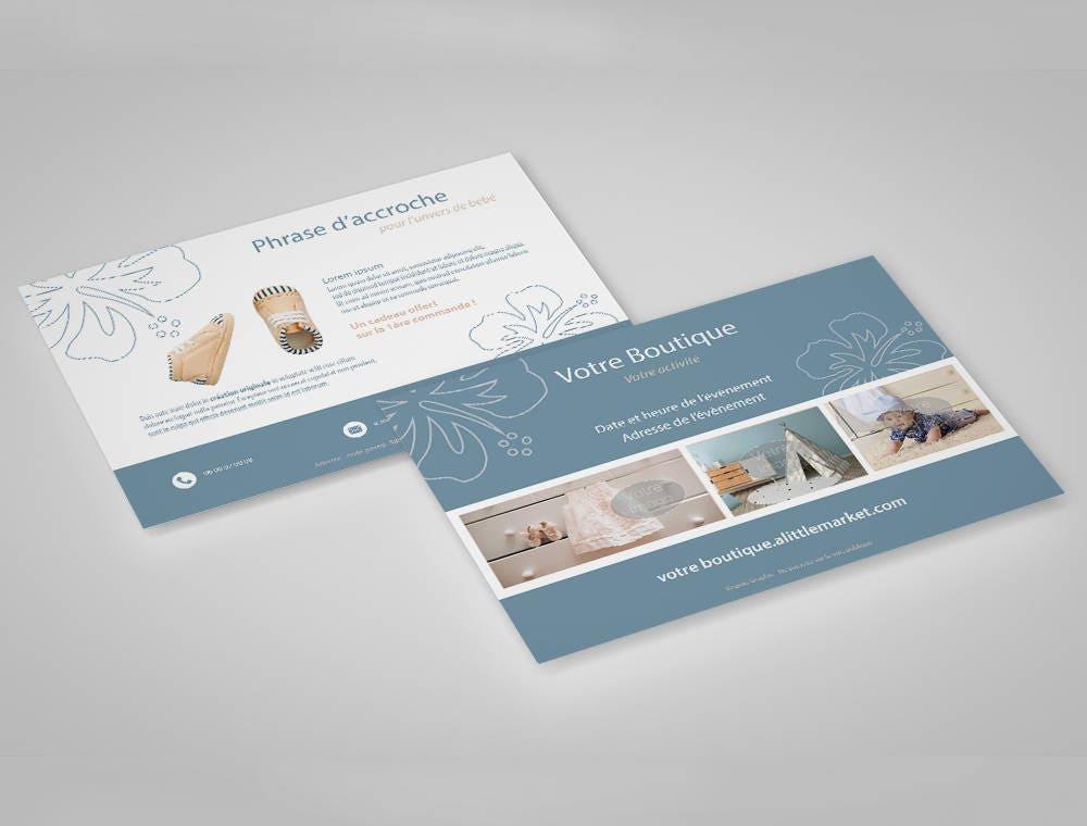 flyer recto verso personnalisable d 39 apr s mod le format a5 communication visuelle. Black Bedroom Furniture Sets. Home Design Ideas