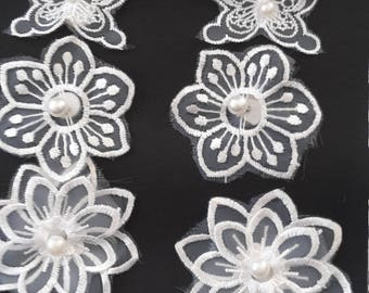 Lace decoration stickers