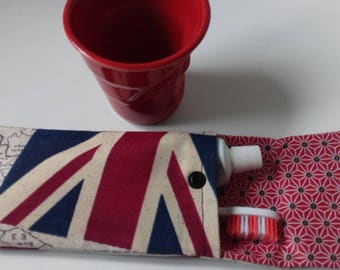 travel case for toothbrush and toothpaste for mothers or fathers day