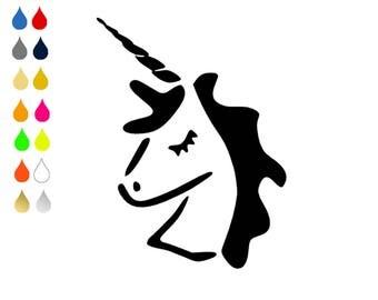 FLEX pixel pattern / Unicorn / choose colors