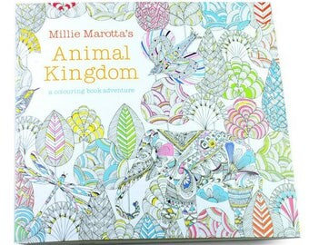 Coloring book animal kingdom