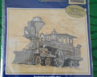 """Locomotive"" BUCILLA counted stitch Kit"