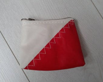 Catamaran recycled sailcloth and dinghy wallet