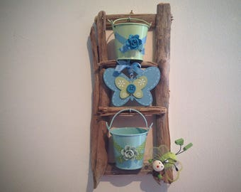 Really cute little wall plants - Driftwood No. 2