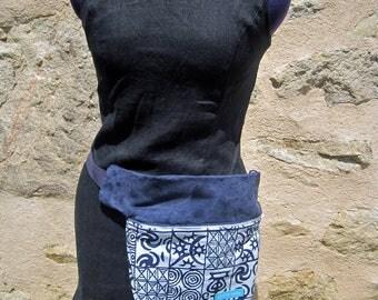 bag belt with snaps