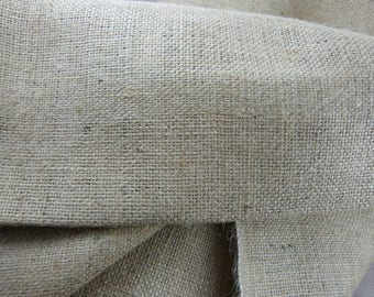 Burlap home decor or sewing