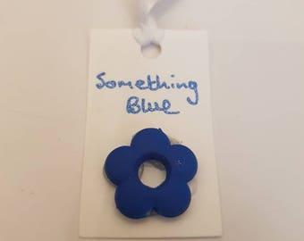 Something blue, tie on, bridal gift, wedding